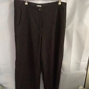 Chico's Stovepipe Trousers in tweed